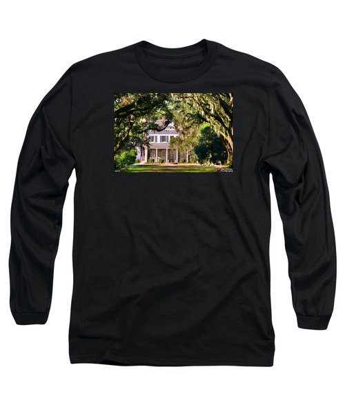 The Legare-waring House At Charles Town Landing Long Sleeve T-Shirt