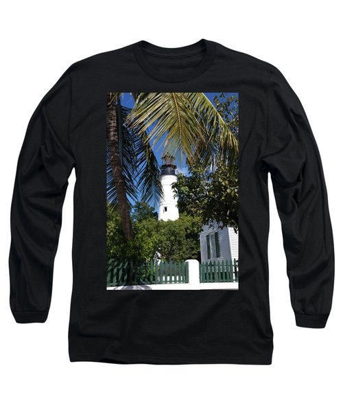 The Lighthouse In Key West II Long Sleeve T-Shirt