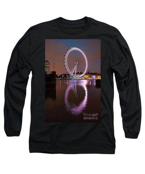 The London Eye Long Sleeve T-Shirt by Nichola Denny