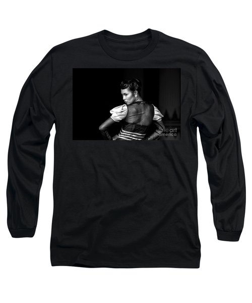 The Look Long Sleeve T-Shirt by Charuhas Images
