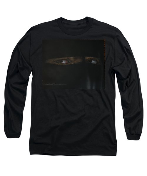 The Lovely Bride Hyphemas Portrait Long Sleeve T-Shirt by Eric Dee