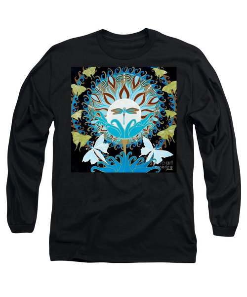 The Luna Moth Journey Of Faith And Love Long Sleeve T-Shirt