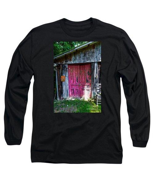 The Magenta Doors Long Sleeve T-Shirt