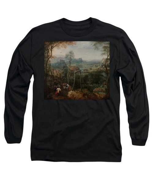 The Magpie On The Gallows Long Sleeve T-Shirt