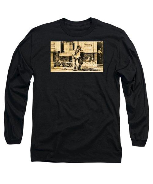 The Malingering Minstrel Long Sleeve T-Shirt