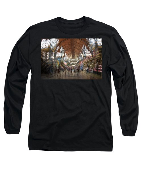 Long Sleeve T-Shirt featuring the photograph The Market Hall by Alex Lapidus