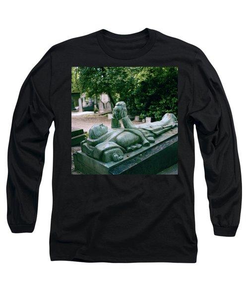 The Mask Of Meditation Long Sleeve T-Shirt by Shaun Higson