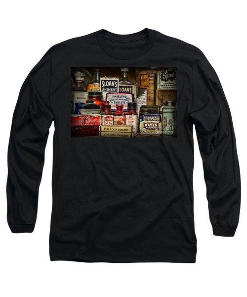The Medicine Shelf Long Sleeve T-Shirt