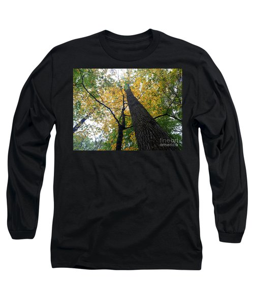 The Mighty Tulip Popular State Tree Of Indiana Long Sleeve T-Shirt