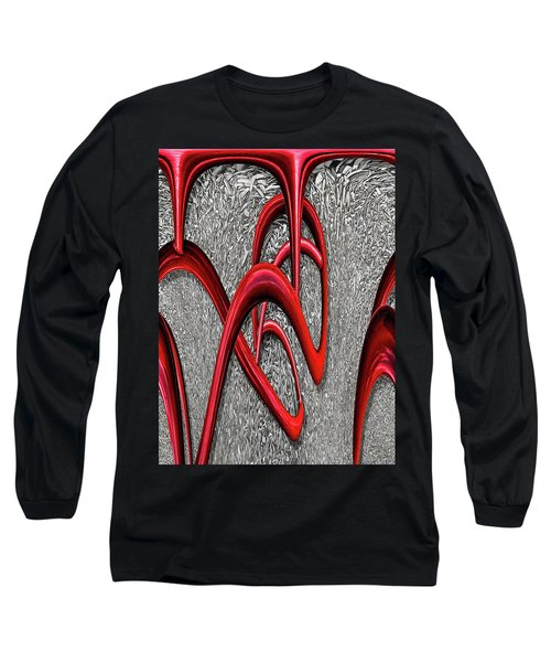 The Monday Lipstick Caper Long Sleeve T-Shirt