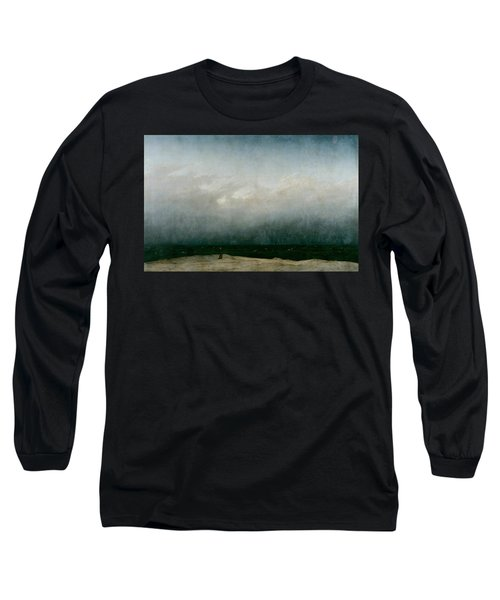 Monk By The Sea  Long Sleeve T-Shirt
