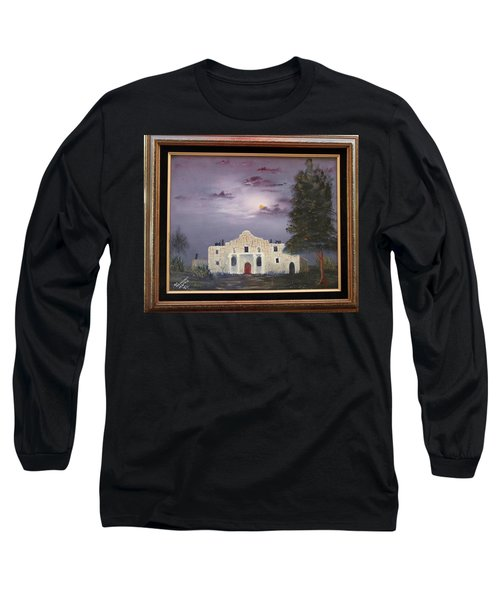 Long Sleeve T-Shirt featuring the painting The Night Before by Al Johannessen