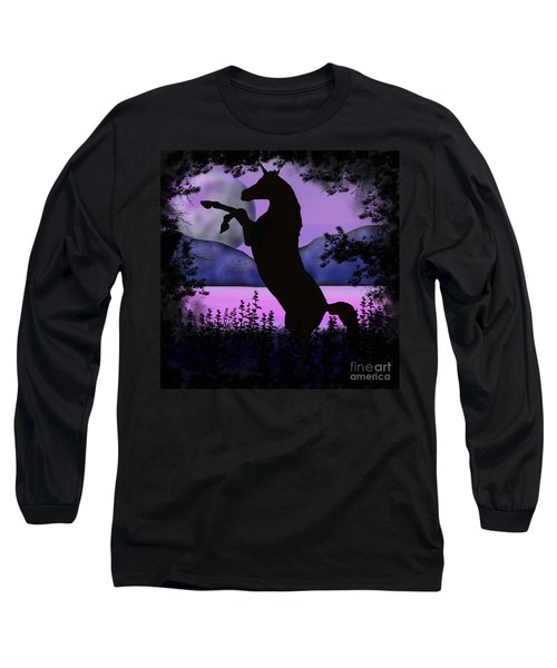 The Night Of The Unicorn Long Sleeve T-Shirt