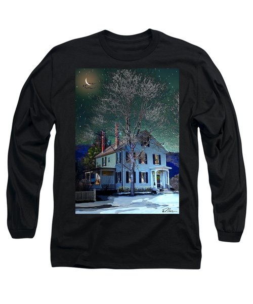The Noble House Long Sleeve T-Shirt by Nancy Griswold
