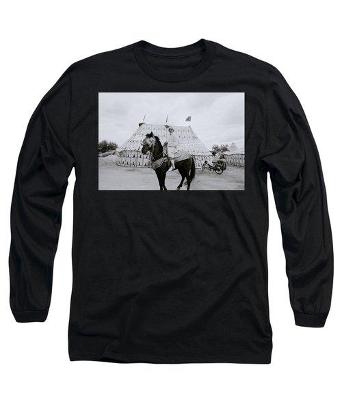 The Noble Man Long Sleeve T-Shirt by Shaun Higson