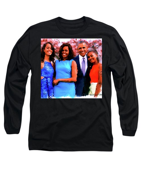 The Obama Family Long Sleeve T-Shirt