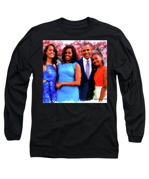 The Obama Family Long Sleeve T-Shirt