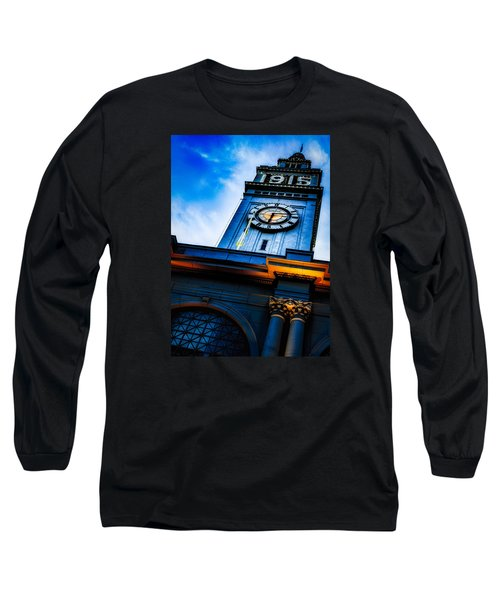 The Old Clock Tower Long Sleeve T-Shirt