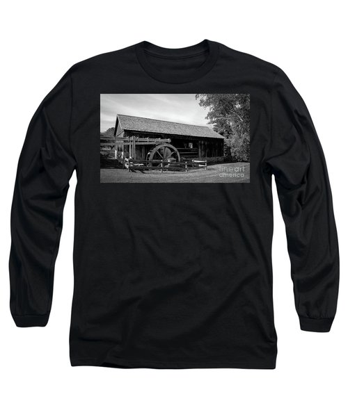 The Old Grist Mill, Vermont Long Sleeve T-Shirt