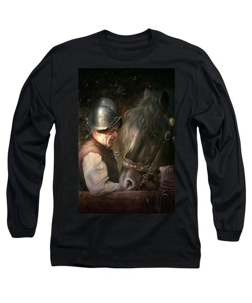 The Old Man And His Trusty Friend Long Sleeve T-Shirt