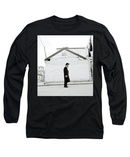 The Old Man Of Mea Shearim Long Sleeve T-Shirt by Shaun Higson