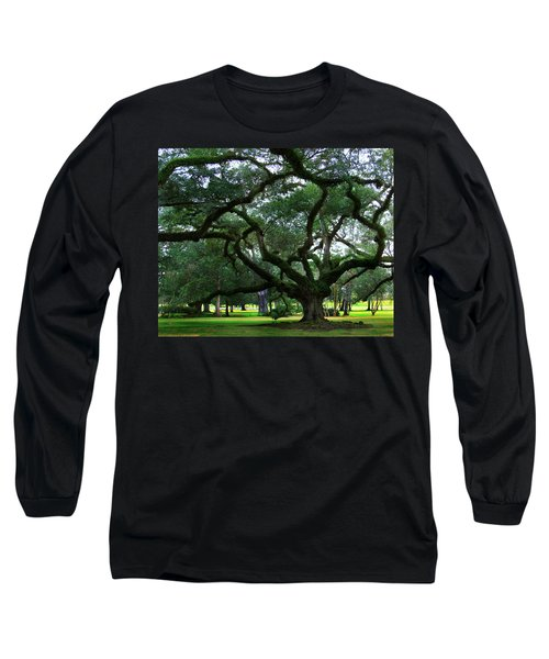 The Old Oak Long Sleeve T-Shirt by Perry Webster