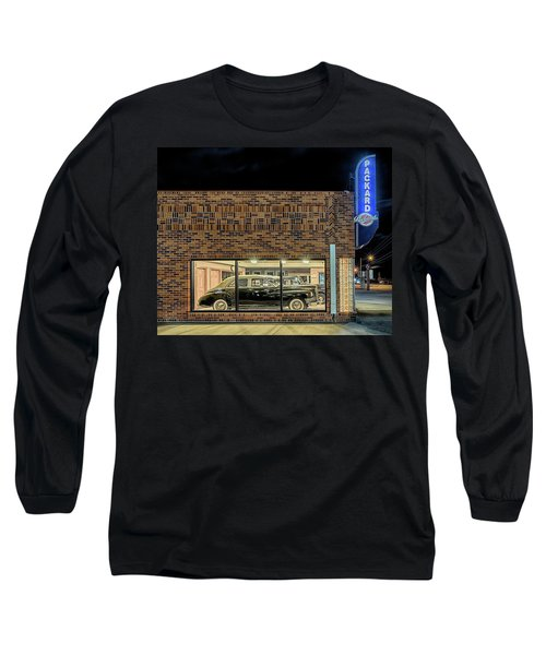 The Old Packard Dealership Long Sleeve T-Shirt