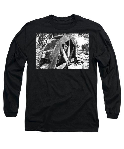 The Old Waterwheel Long Sleeve T-Shirt
