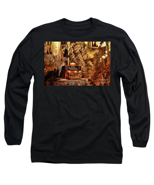 The Organ In Luray Caverns Long Sleeve T-Shirt by Paul Ward
