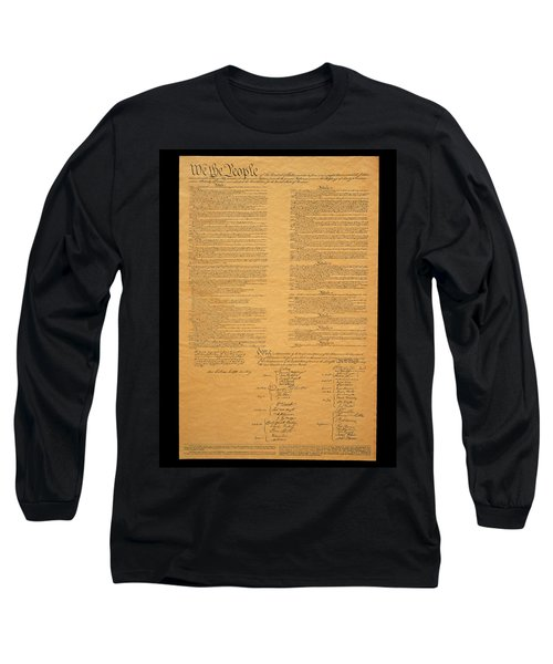 The Original United States Constitution Long Sleeve T-Shirt