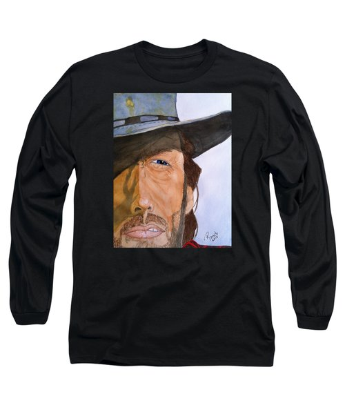The Outlaw Josey Wales Long Sleeve T-Shirt by Rand Swift