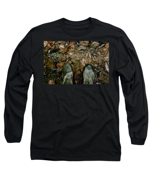 The Path Into The Amazon Long Sleeve T-Shirt