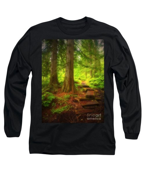 The Path Through The Forest Long Sleeve T-Shirt