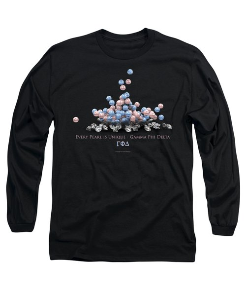 The Pearls Of Gamma Phi Delta Long Sleeve T-Shirt