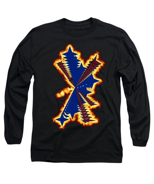 The Phoenix Long Sleeve T-Shirt by Cathy Harper