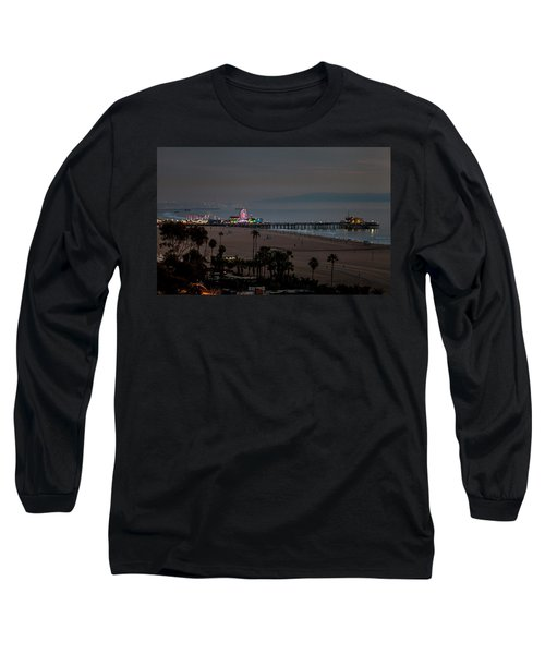 The Pier After Dark Long Sleeve T-Shirt
