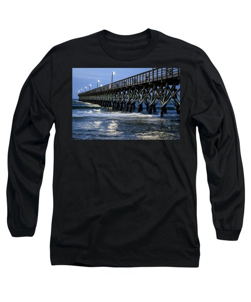 The Pier At The Break Of Dawn Long Sleeve T-Shirt