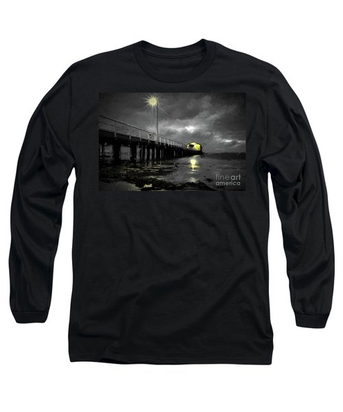 The Pier On The Bay Long Sleeve T-Shirt