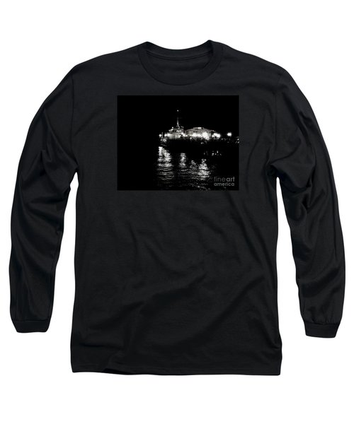 Long Sleeve T-Shirt featuring the photograph The Pier by Vanessa Palomino