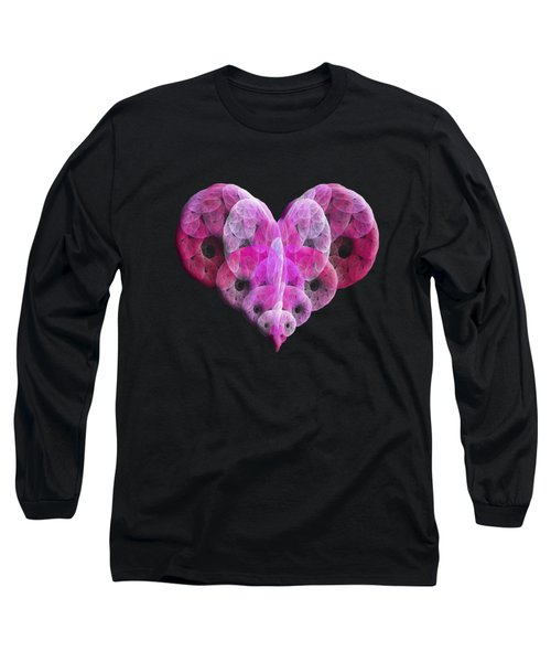 The Pink Heart Long Sleeve T-Shirt
