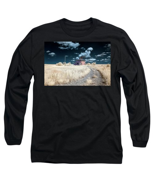 The Pink House In Halespectrum 1 Long Sleeve T-Shirt