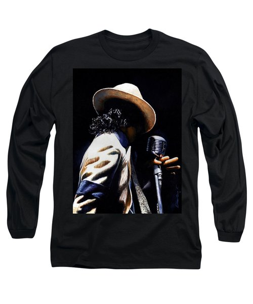 The Pop King Long Sleeve T-Shirt by Emerico Imre Toth