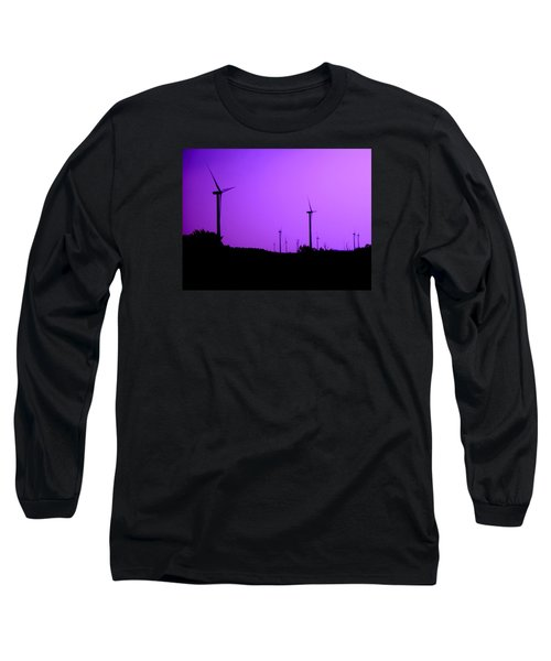 The Purple Expanse Long Sleeve T-Shirt