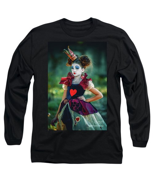The Queen Of Hearts Alice In Wonderland Long Sleeve T-Shirt