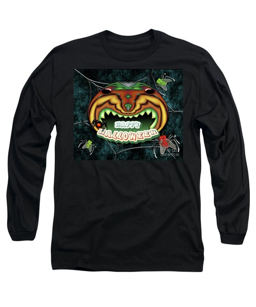 The Really Scared Pumpkin Melon Long Sleeve T-Shirt