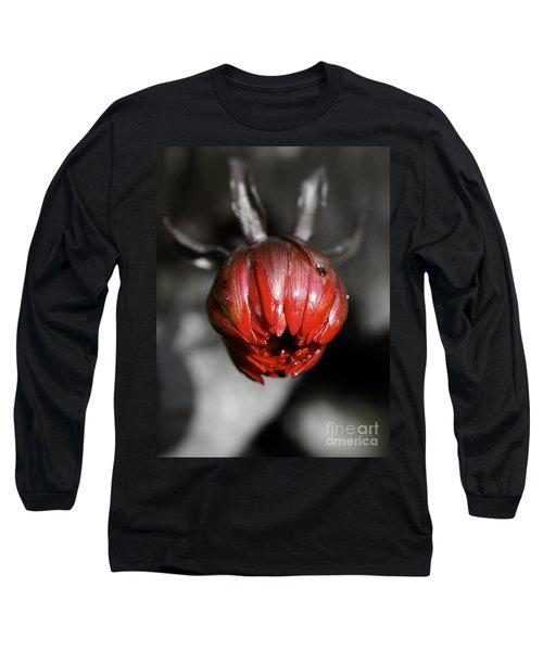 The Red Dahlia Long Sleeve T-Shirt