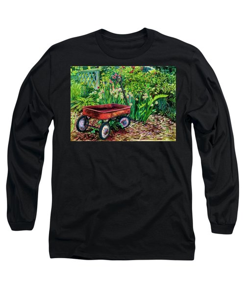 The Red Wagon Long Sleeve T-Shirt