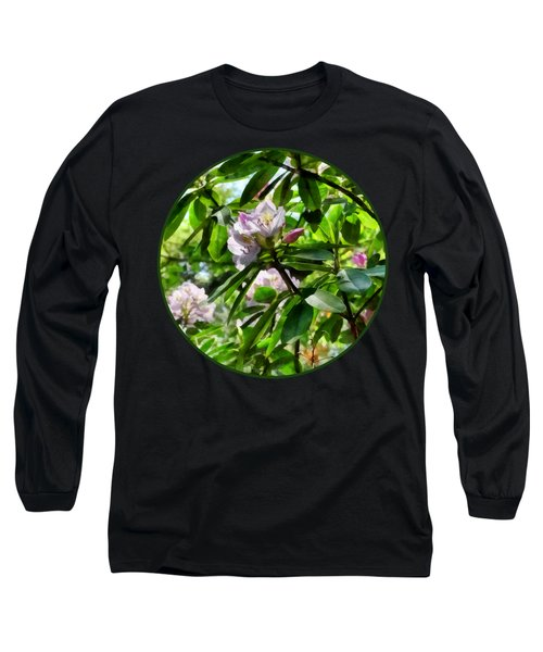 The Rhododendrons Are In Bloom Long Sleeve T-Shirt