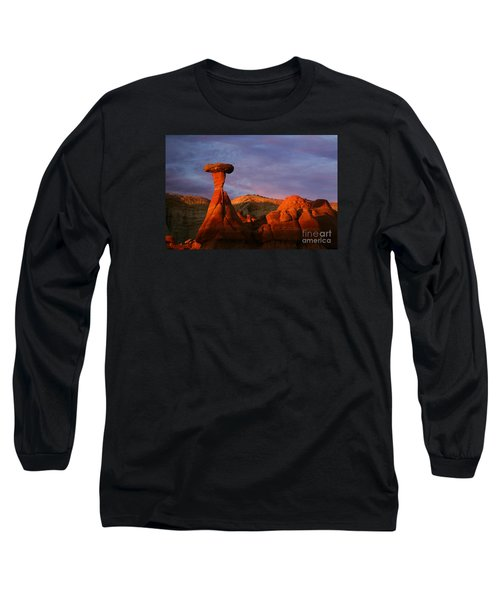 Long Sleeve T-Shirt featuring the photograph The Rim Rocks by Keith Kapple