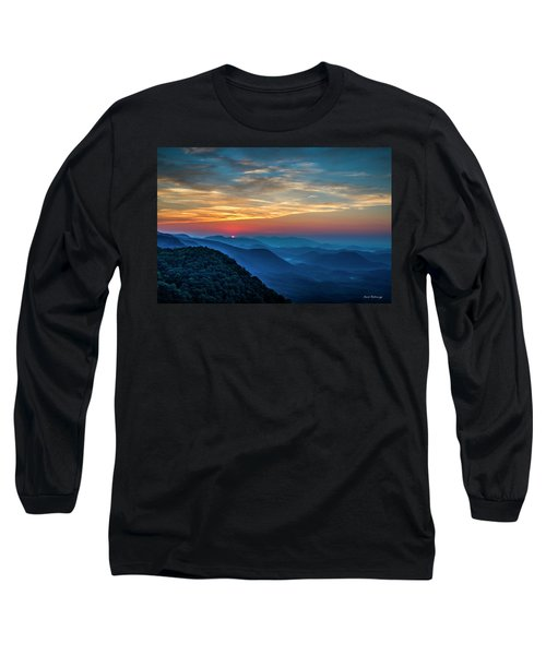 The Rising Sun Pretty Place Chapel Greenville S C Great Smoky Mountain Art Long Sleeve T-Shirt